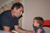 La pecorazza - Nonno Franco racconta la storia della \'pecorazza\' a Francesco - Estate 2008
