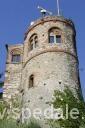 Città di Desenzano del Garda - la torre nord-est del  castello